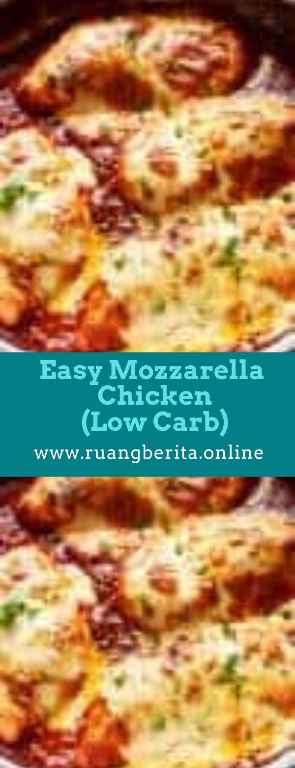 Easy Mozzarella Chicken (Low Carb Chicken Parma)