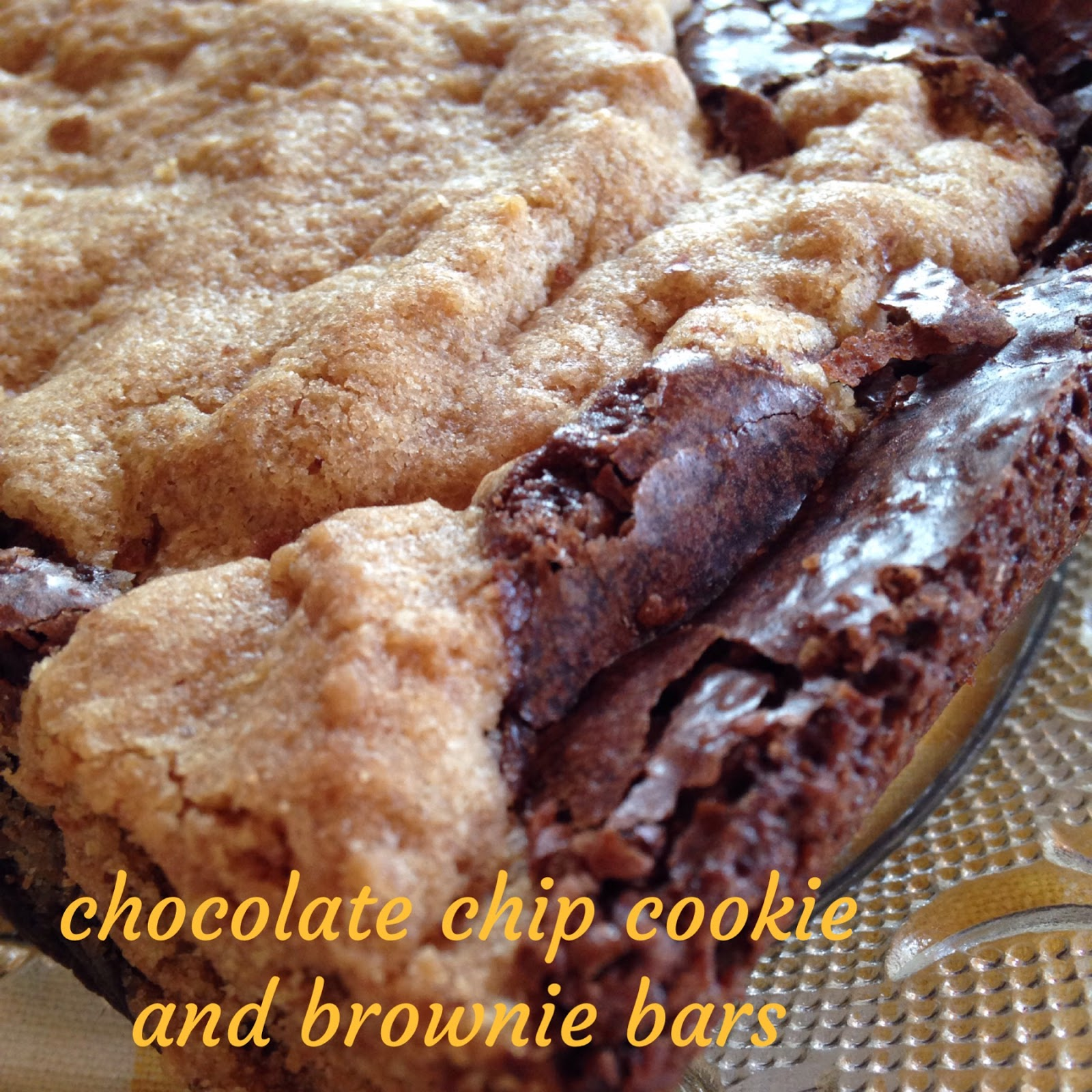 Turnips 2 Tangerines: Chocolate Chip Cookie and Brownie Bars