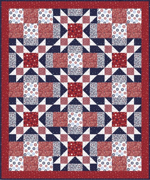 Sweet Liberty Quilt - Free Pattern
