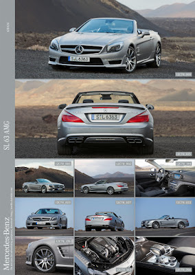 2012 Mercedes SL63 AMG R231 Offcial Press Pictures multi shot