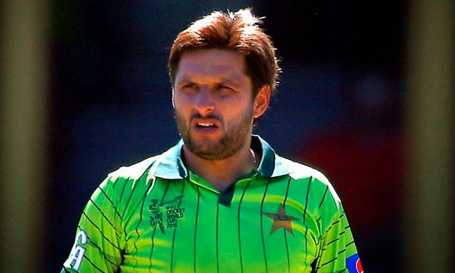 Shahid Afridi Stock Photos and Pictures