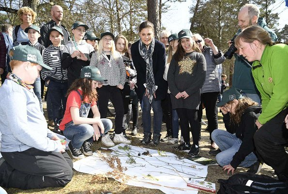 Crown Princess Victoria visited the Swedish Kennel Club, Birdwatching Tower, Japanese Garden, Ronneby OK, Swedish Society for Nature Conservation