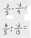 24.   Multiplicación y división de fracciones