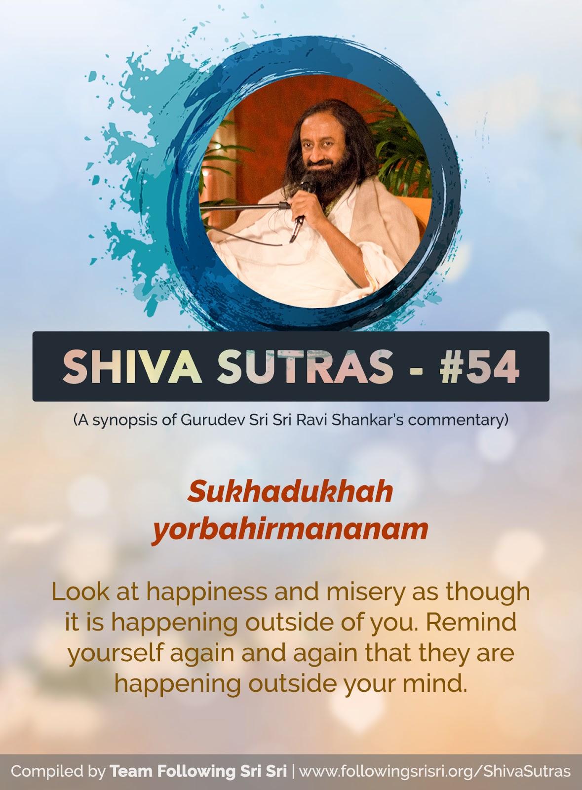Shiva Sutras - Sutra 54
