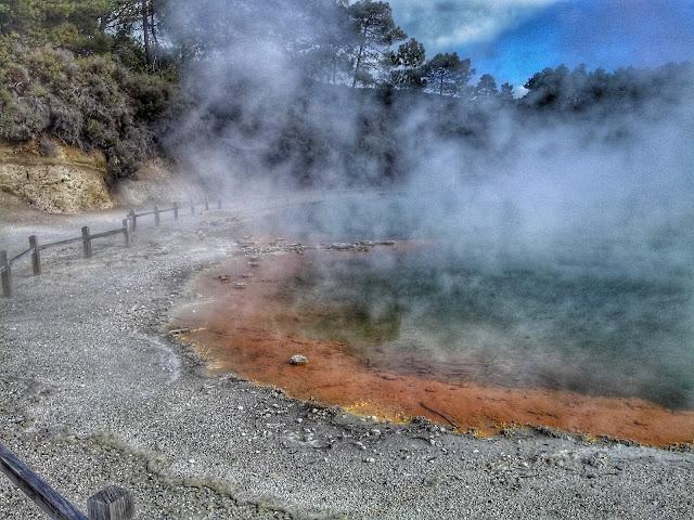 Volcan Rotorua Nueva Zelanda