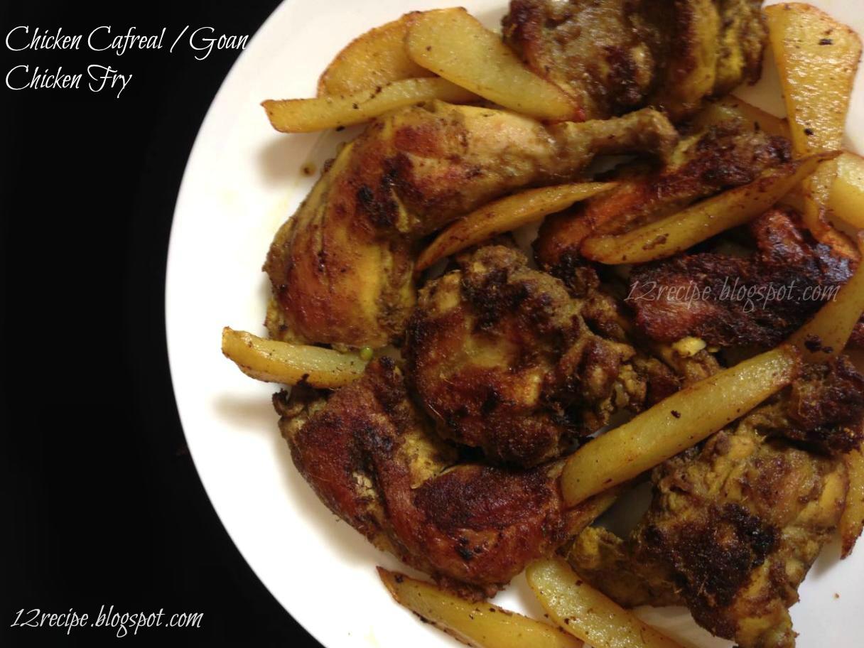 Chicken cafreal goan chicken fry recipe book chicken cafreal goan chicken fry forumfinder Image collections