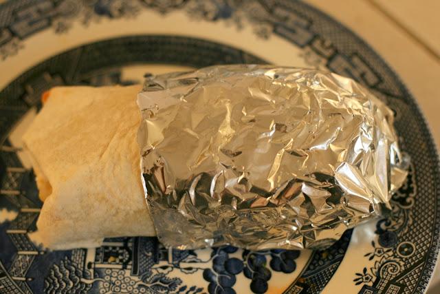 yummy turkey burrito
