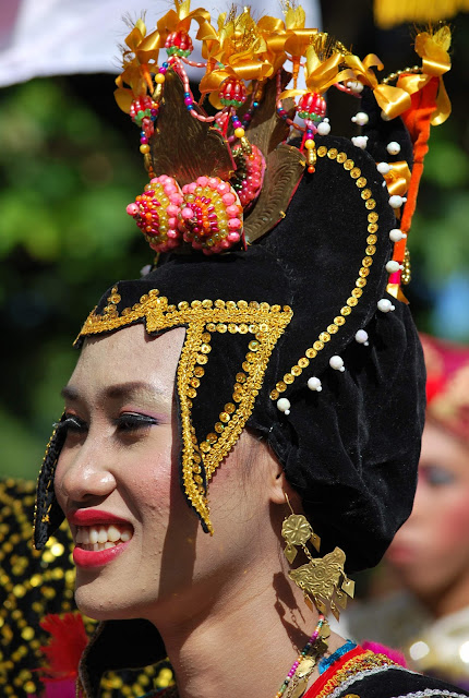 traditional people from Indonesia