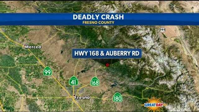 Vehicle Crash Fatality highway 168 auberry road bay area man fresno county