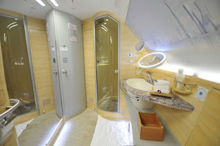 Emirates Airlines Showers