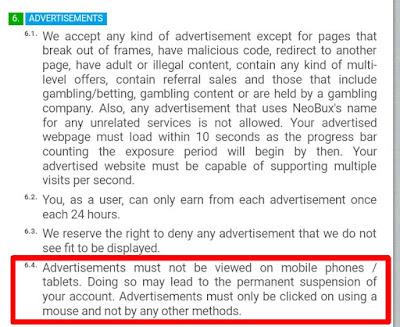1518086478804 Inilah Alasan Kenapa Klik Iklan Neobux Tidak Bisa Lewat Hp