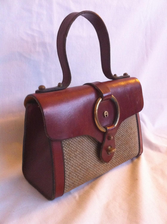 Antiqueaholics A Classic Vintage Etienne Aigner Handbag