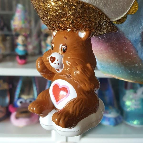 Care Bear Tenderheart shaped heel on shoe