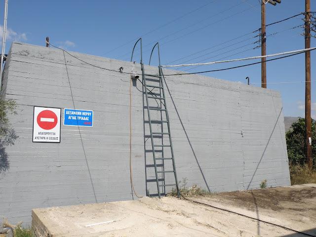 Προπαρασκευαστικές εργασίες από την ΔΕΥΑΝ για την υδροδότηση του τέως Δήμου Μιδέας με πόσιμο νερό