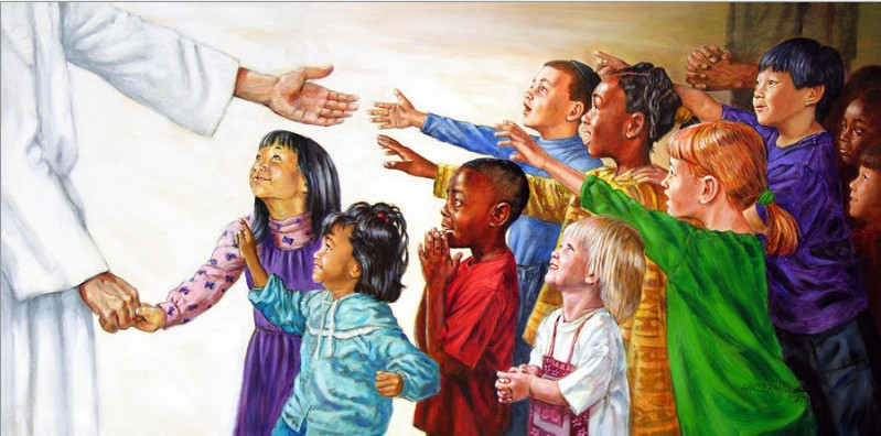 Jesus and children (thoughts of Newtown)