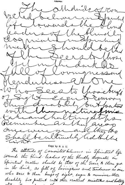 Mysterious Planchette: A Survey of Automatic Writing (not