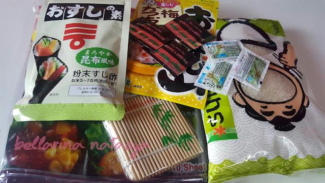 Set Untuk Buat Sushi Homemade