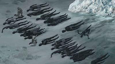 Goode encontraría algo verdaderamente dantesco en su viaje a la Antártida