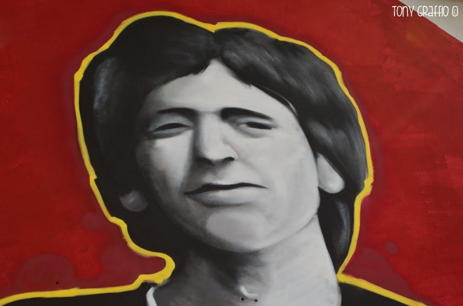 Fausto Tinelli graffito