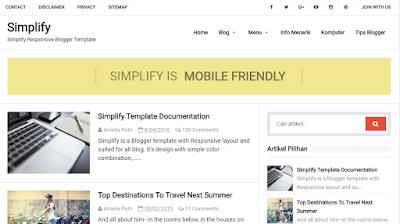 template-blog-gratis-free