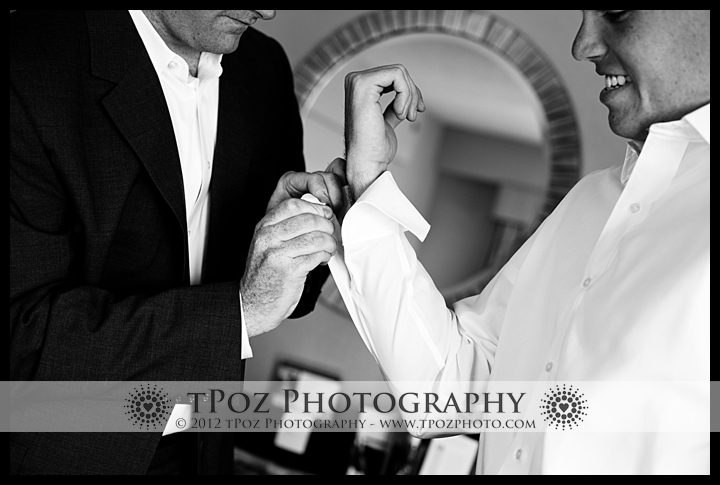 Wedding prep at the Annapolis Marriott