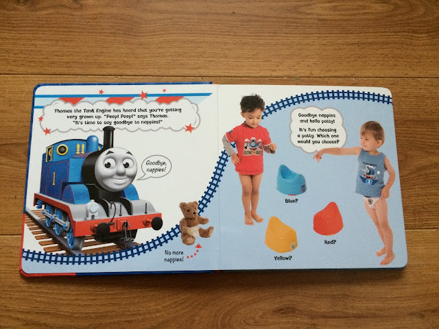 thomas potty training book