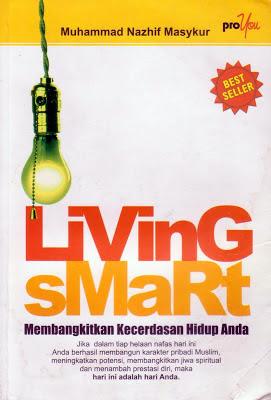 Cover buku living smart