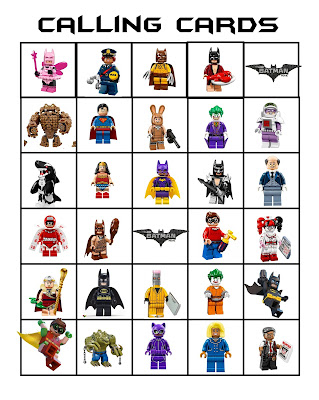 Free Lego Batman Party Activities