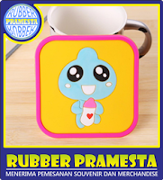 RUBBER COASTER | CUSTOM RUBBER COASTER | RUBBER COASTER MURAH