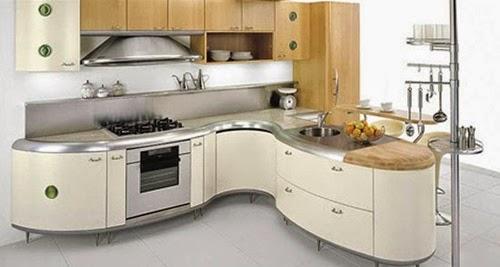Architecture Decoration Amazing Modern Curved Kitchen Design Ideas