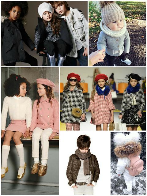 Complementos y accesorios en tendencia moda infantil