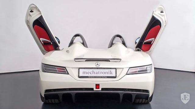 価格は約3億7000万円!世界限定75台の「メルセデスベンツSLRマクラーレン・スターリングモス」の中古車が海外で販売中。