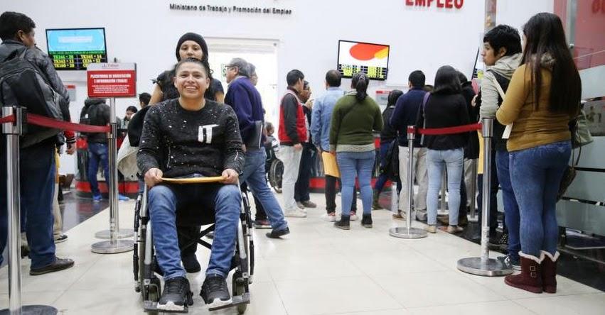 Ministerio de Trabajo brindará más de 300 puestos solo para personas con discapacidad en «Maratón del Empleo» www.trabajo.gob.pe