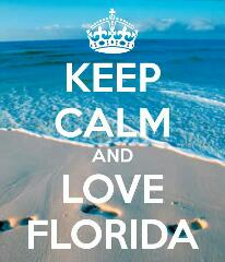 Keep calm and love Florida