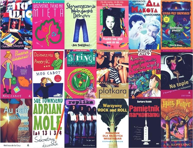 najlepsze książki dla nastolatek