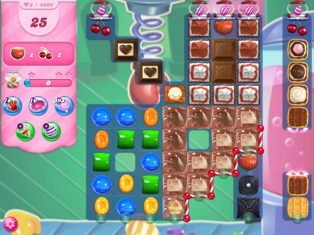 Candy Crush Saga level 4602