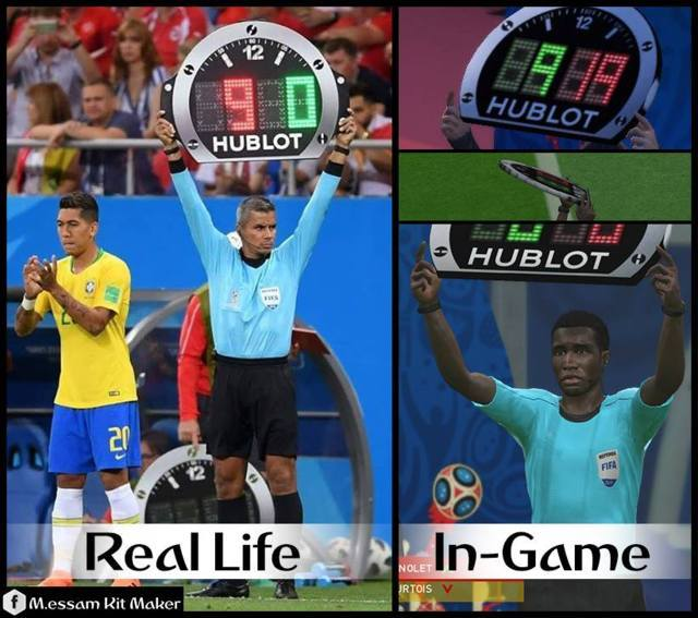 World Cup 2018 Substitute Board PES 2017