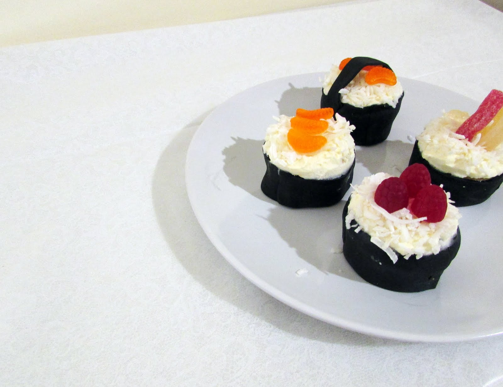 Sushi Cupcakes for International Sushi Day