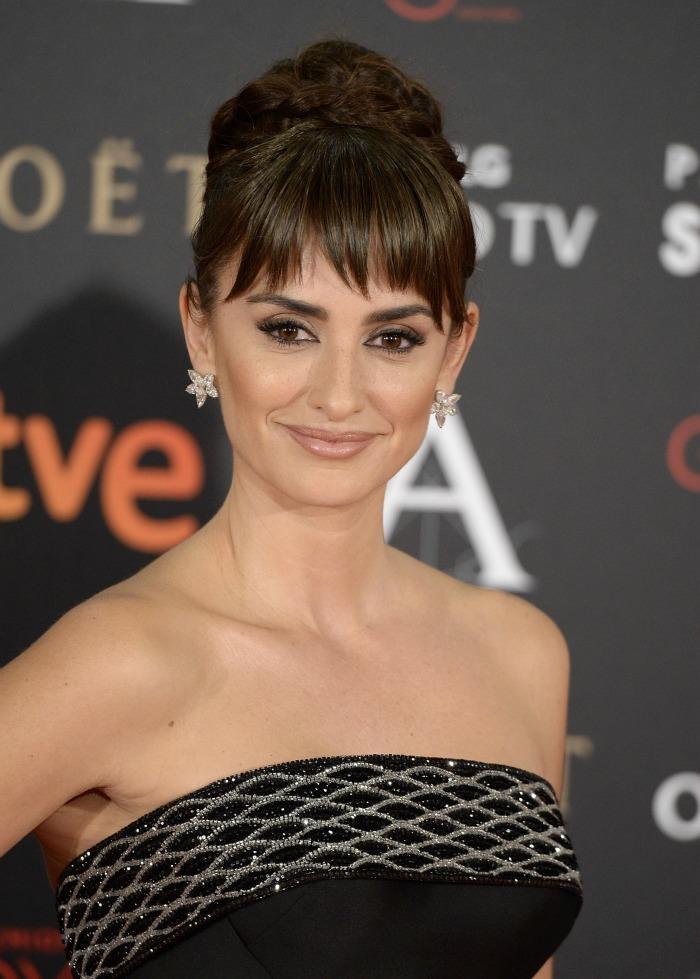 maquillaje en los Premios Goya