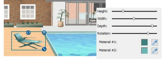 Choose Your Own Color Combinations To Customize Your Home Design Project  Interior, Exterior, Backyard, And Pool.