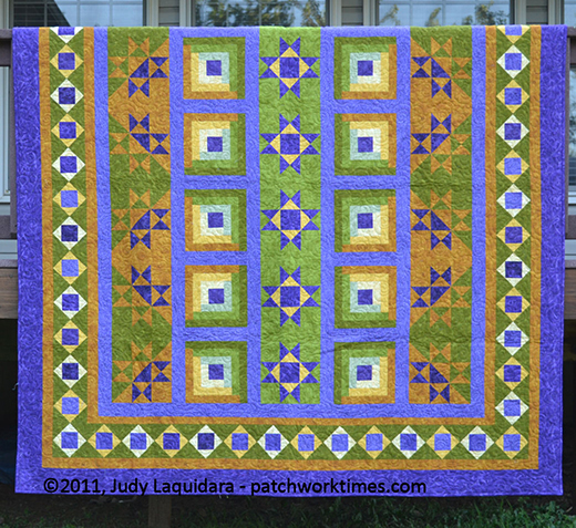 Road to Brownwood Quilt Free Pattern Designed by Judy Laquidara of Patchwork Times