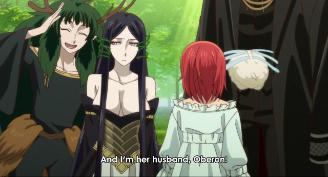 Ancient Magu's Bride Titania Oberon Chise