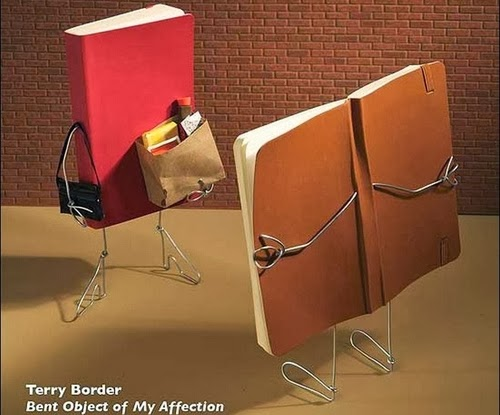 01-Expose-Yourself-to-Great-Literature-Terry-Border-Photographer-Bent-Objects-Sculptures-www-designstack-co