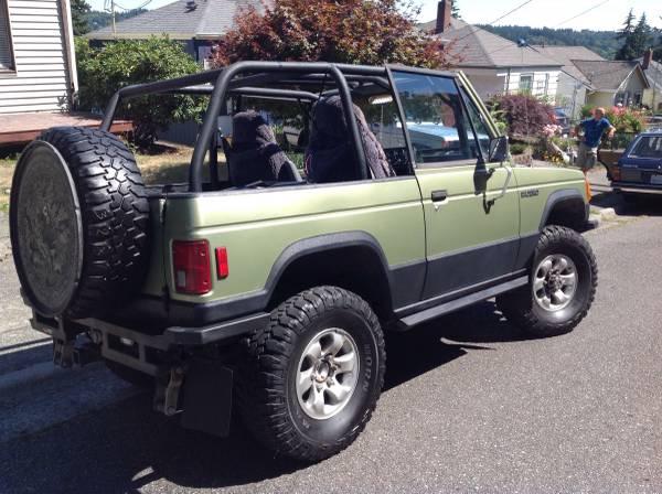 Dodge Raider For Sale >> 1984 Mitsubishi Pajero (Montero) Custom Convertible - Get Some Sun Sunday