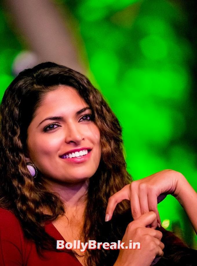 , Parvathy Omanakuttan Hot Pics in Red Dress, Curly Hair