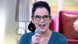 """Fernanda Young durante o programa """"Encontro com Fátima Bernardes"""", em 2014 — Foto: Reprodução/TV Globo"""
