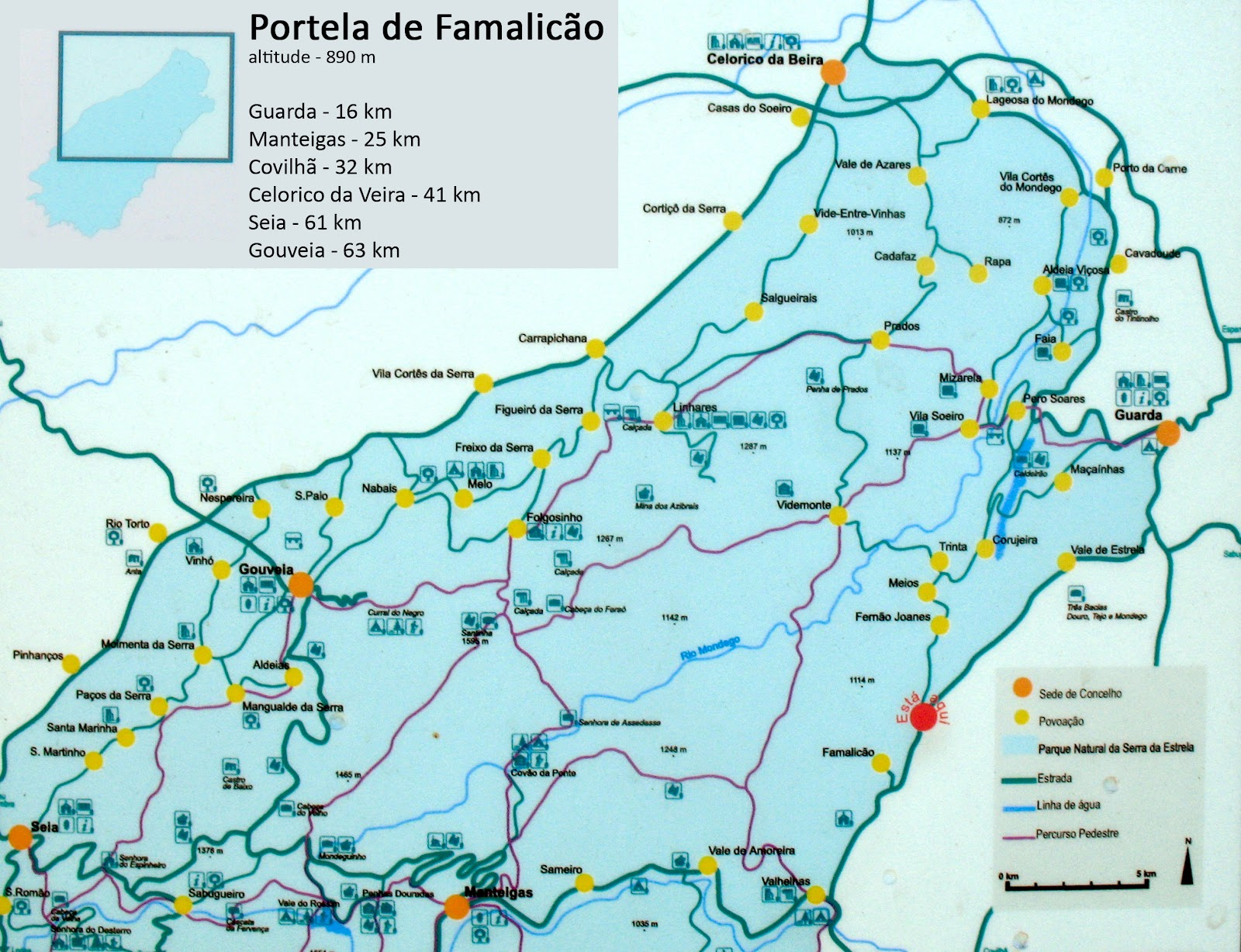 mapa turístico do parque natural da serra da estrela Mapa Turistico Serra Da Estrela | thujamassages mapa turístico do parque natural da serra da estrela