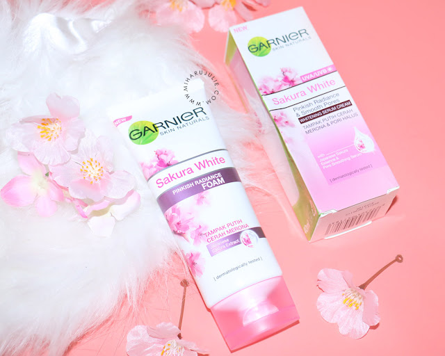 garnier Sakura White Pinkish Radiance Gentle Foam review