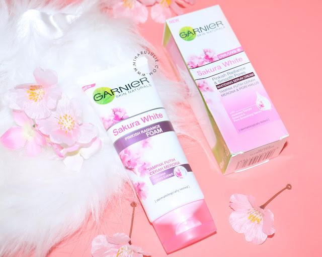 garnier Sakura White Pinkish Radiance Gentle Foam review