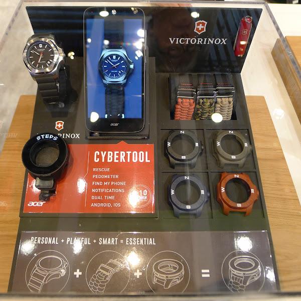 Victorinox後續可能會以配件盒的方式銷售,除了智慧錶框、還有錶帶及一般錶框。
